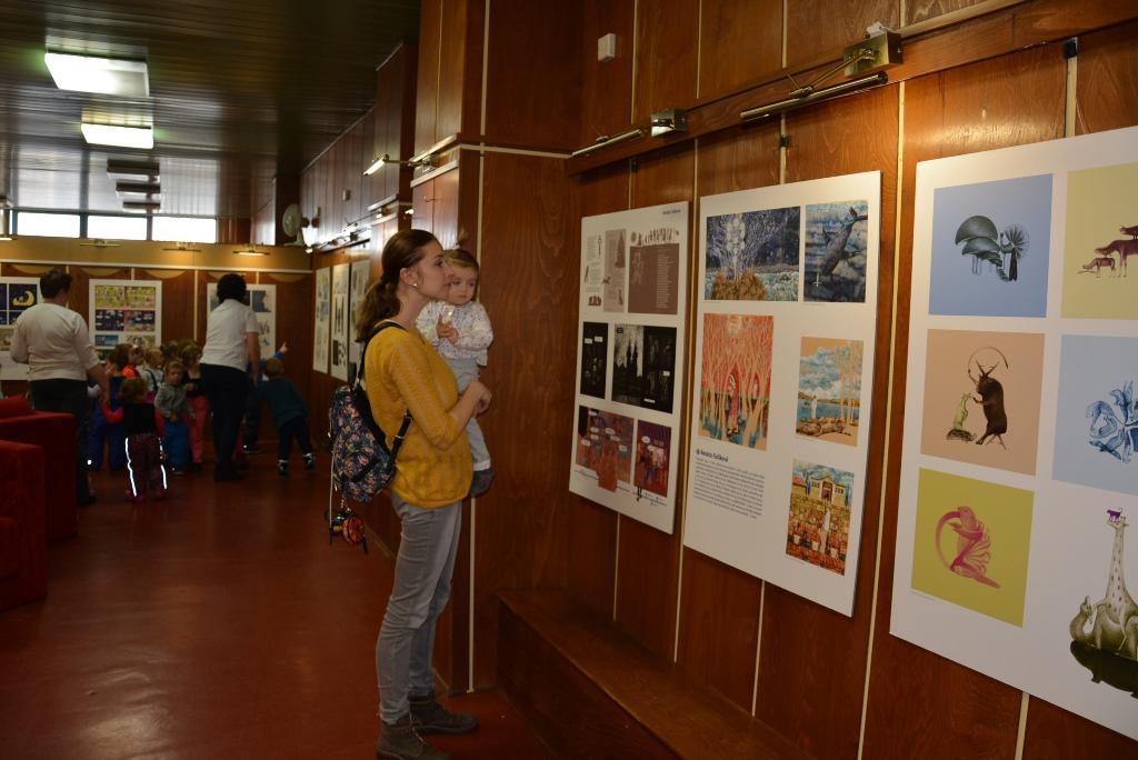 12 svetov - výstava ilustrátorov súčasnej českej detskej knihy