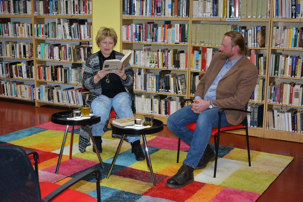 Stretnutie s autorom publikácie Objavené v ľubovnianskom archíve Pavlom Mišenkom.