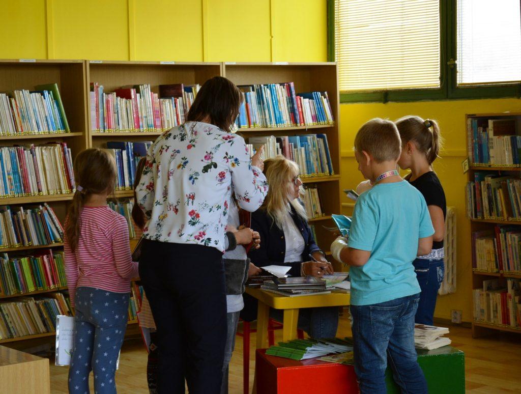 Danica Pauličková - beseda v Ľubovnianskej knižnici