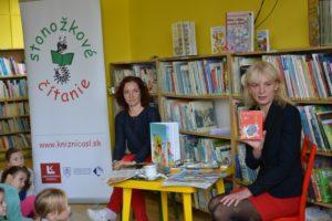 Stretnutie so spisovateľkou Danušou Dragulovou-Faktorovou.