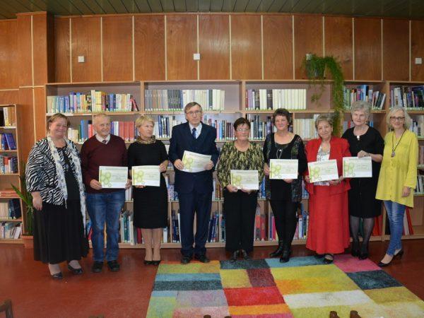 Okresná súťaž v prednese poézie, prózy a vlastnej tvorby seniorov
