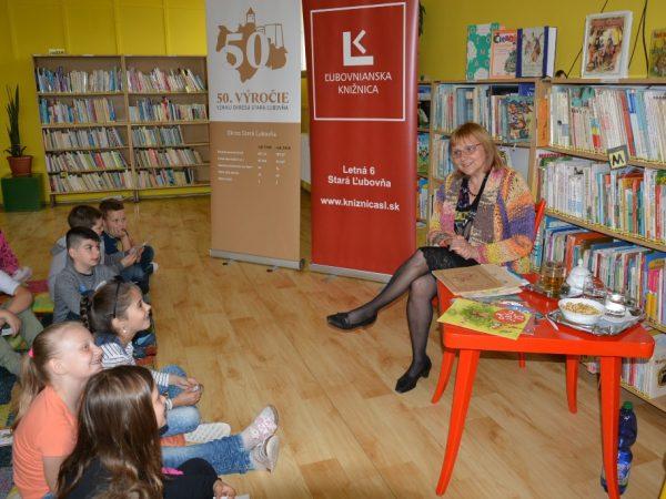 Stretnutie s Ľubicou Kepštovou