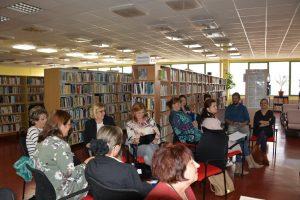 Stretnutie učiteľov s propagátorom čítania detí Tiborom Hujdičom