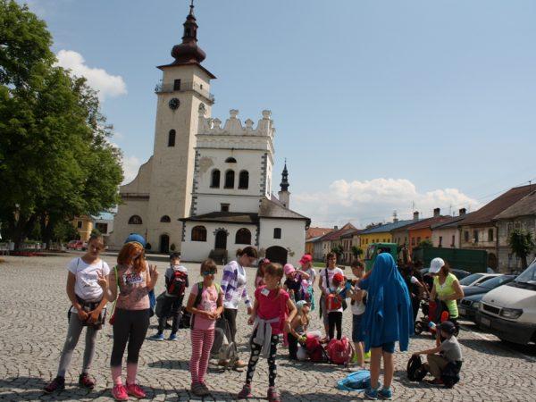 Letný čitateľský tábor pre deti