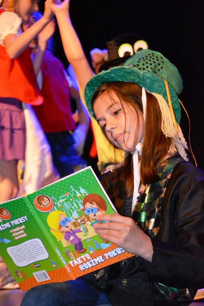 Stonožkové čítanie - kampaň na podporu čítania detí