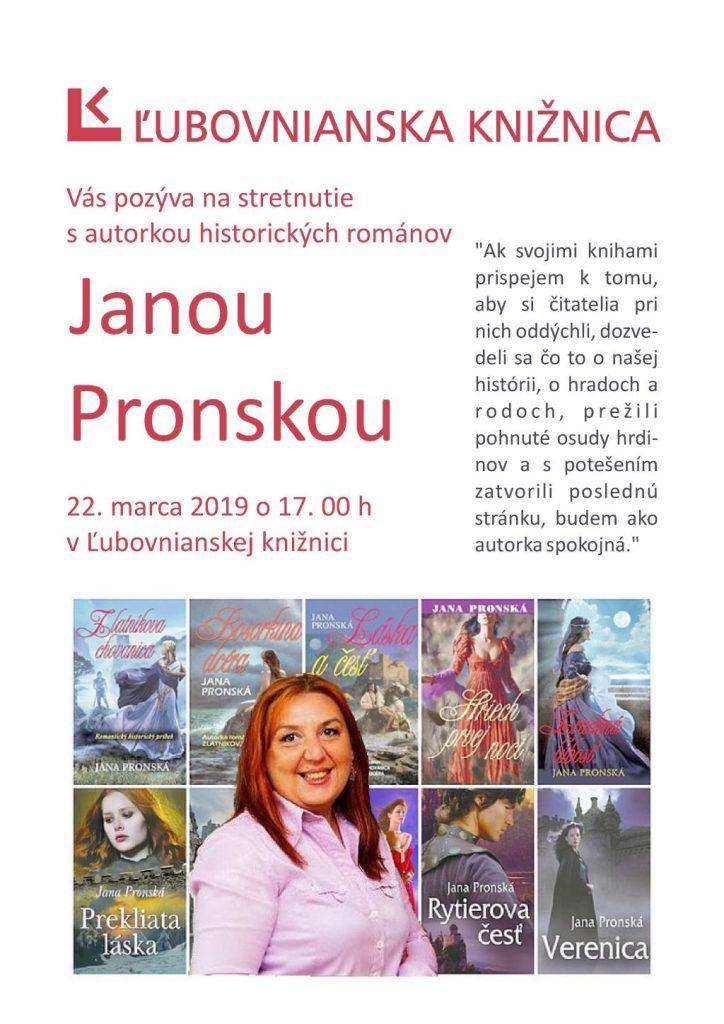 0526e53aefac Kalendár podujatí - Ľubovnianska knižnica