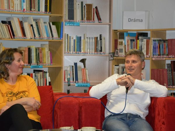 Stretnutie s manželmi Alenkou a Bohušom Živčákovými