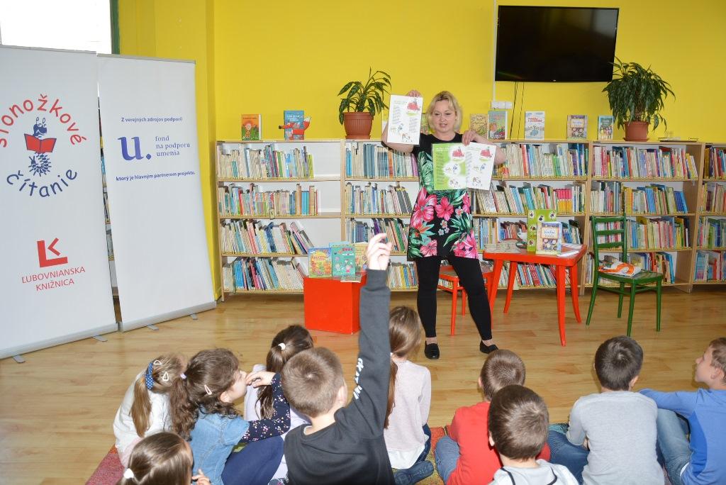 Stonožkové čítanie - stretnutie so Zuzanou Pospíšilovou