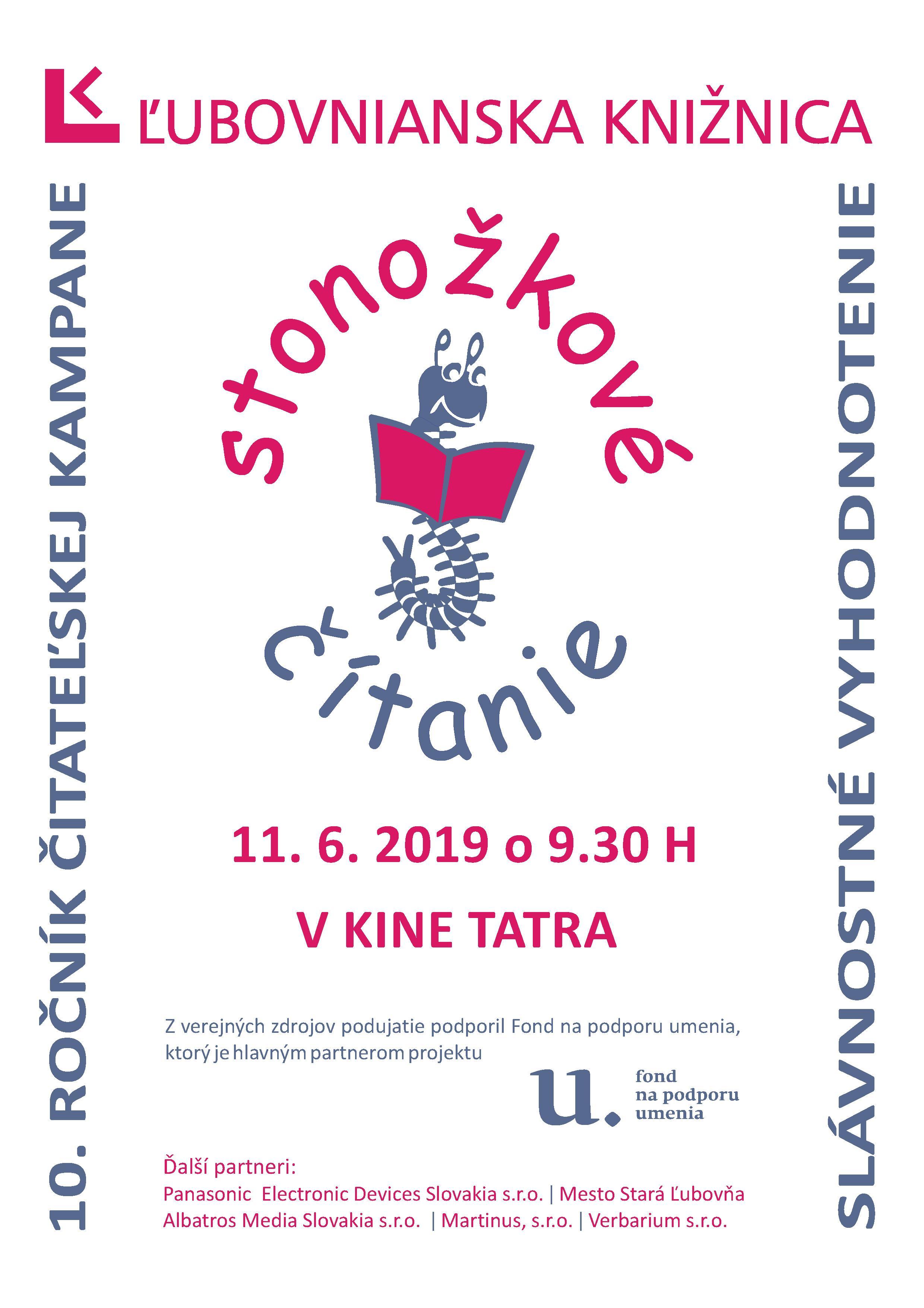 Kalendár podujatí Ľubovnianska knižnica